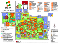 The University of Texas - Pan American Campus Map