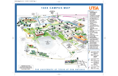 The University of Texas at San Antonio Map