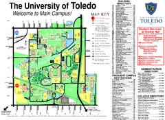 The University of Toledo Map