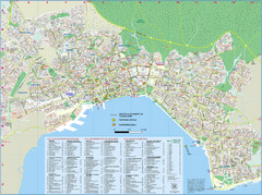 Thessaloniki Tourist Map