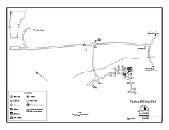 Thetford State Park Campground Map
