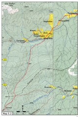 Thimphu Punakha trail Map