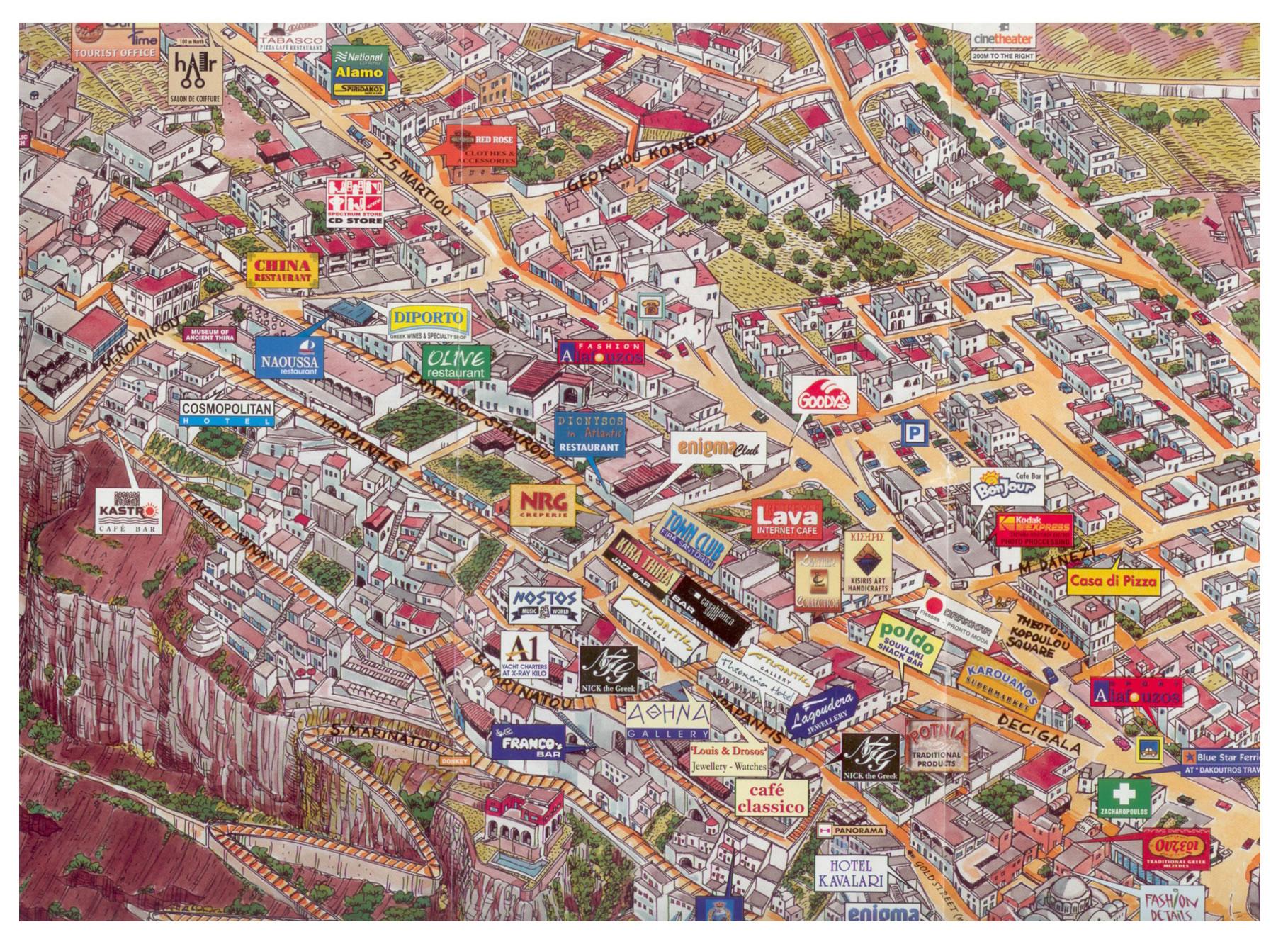 re Mappe Turistiche Scali