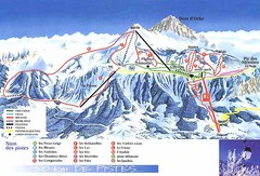 Thollon-les-Memises Ski Trail Map