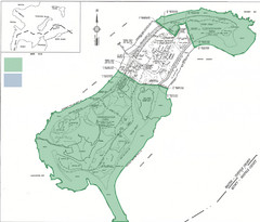 Thompson Island Easement Map
