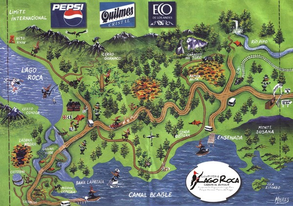 Map of tdf argentina pinterest argentina map of tdf gumiabroncs Choice Image