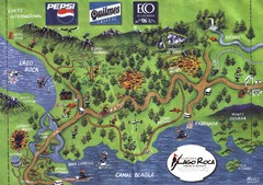 Tierra del Fuego National Park Camping Map
