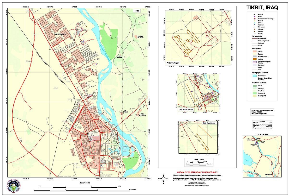 Tikrit Iraq Map Tikrit Iraq mappery