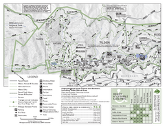 Tilden Regional Park Map - North