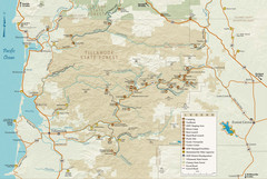 Tillamook State Forest Map