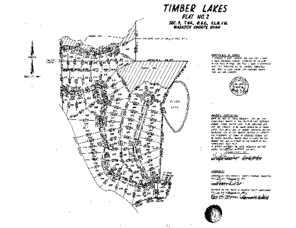 Timber Lakes Plat 2 Map