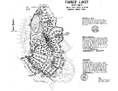 Timber Lakes Plat 3 Map
