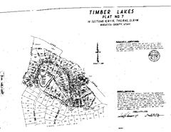 Timber Lakes Plat 7 Map