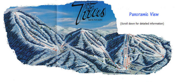 Titus Mountain Ski Trail Map