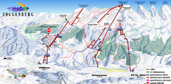 Toggenburg Ski Trail Map