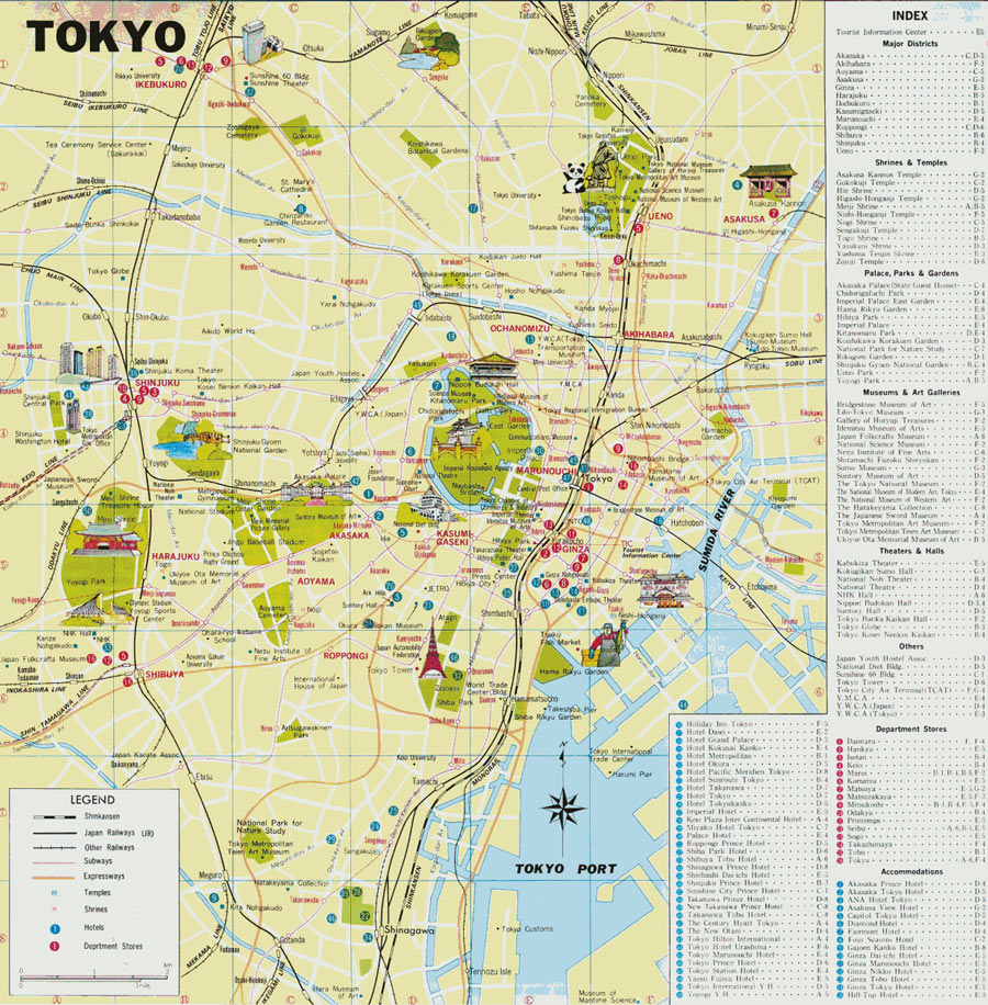 tourist map tokyo with Tokyo Guide Map on Blog Post besides Osaka Hotel d179897 additionally Map Of Ancona City Centre moreover Fr besides Odaiba Map.