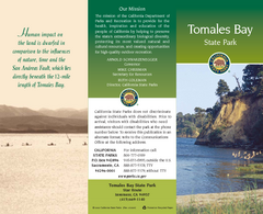 Tomales Bay State Park Map