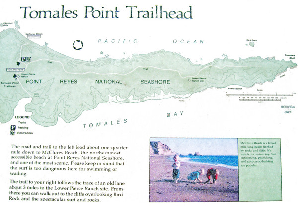 Tomales Point Trail Map