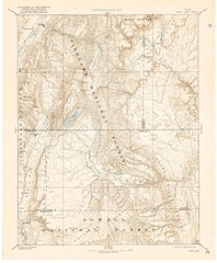 Topo Map of Capitol Reef Region (Fish Lake Quad...