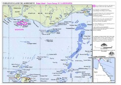 Torres Strait Land Use Map