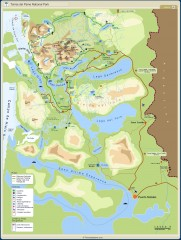 Torres del Paine National Park Map