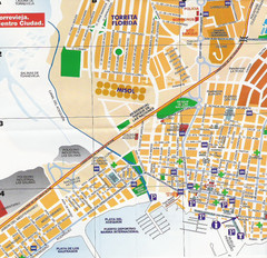 Torrevieja Spain Tourist Map