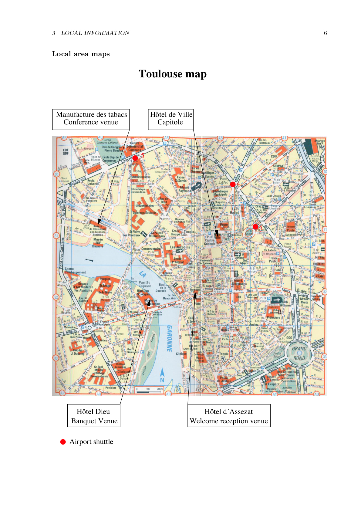 Toulouse Map Toulouse France mappery