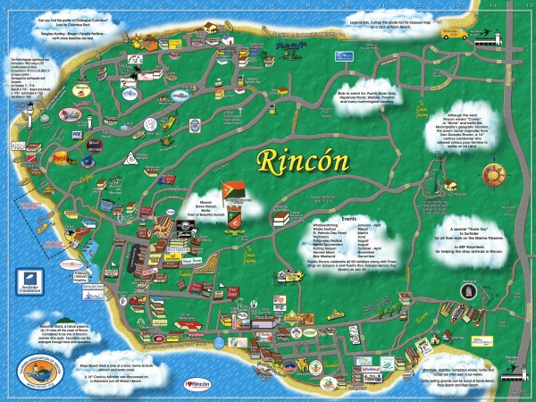 Puerto Rico maps mappery – Puerto Rico Tourist Attractions Map
