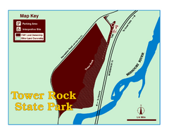 Tower Rock State Park Map