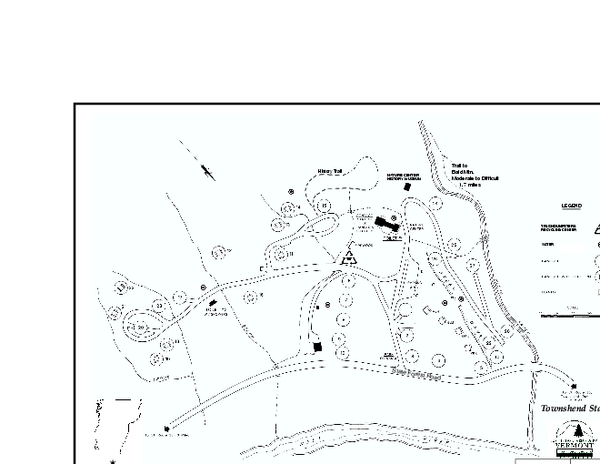 Townshend State Park Campground Map