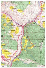 Trail to Paga Monastery Map