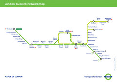 Tramlink Network Map