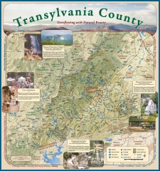 Transylvania County Tourism Development Map