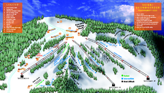 Treetops Sylvan Resort Ski Trail Map