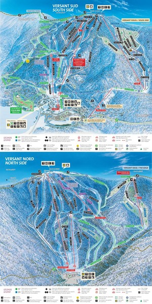 Tremblant Ski Trail Map