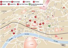 Trento Bus Route Map Italian Trento Italy mappery
