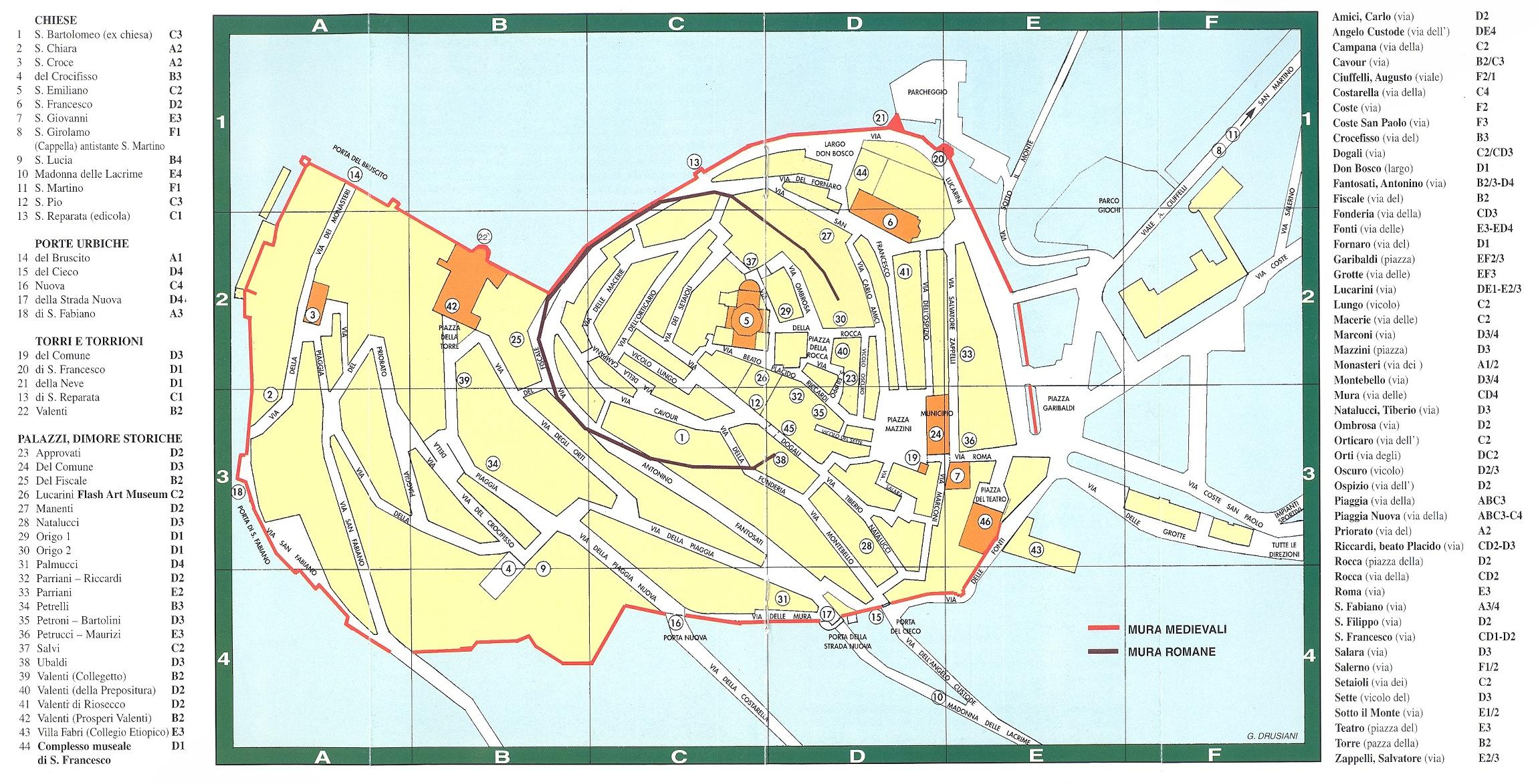 Trevi Map trevi it mappery