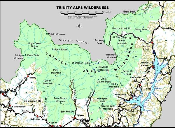 Trinity Alps Wilderness: Caribou Basin | Trails\' Guide
