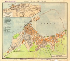 Tripoli City Map