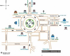 Trissur Tourist Map