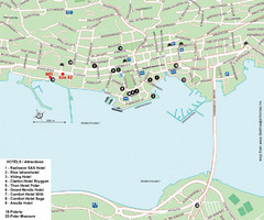 Tromso Tourist Map