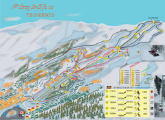 Tsakhkadzor Ski Trail Map