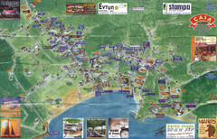 Tsilivi Tourist Map