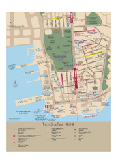 Tsim Sha Tsui Tourist Map