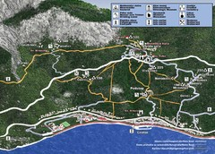 Tucepi Tourist Map