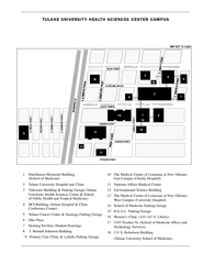 Tulane University Downtown Campus Map