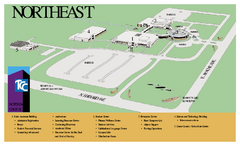 Tulsa Community College - Northeast Campus Map