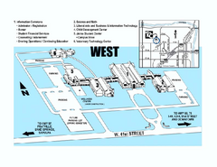 Tulsa Community College - West Campus Map