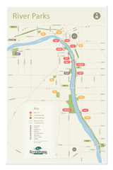Tulsa Riverparks Map