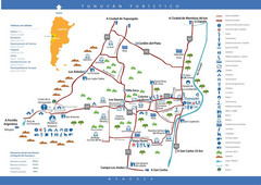 Tunuyan Tourist Map